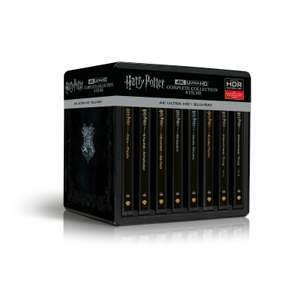 Harry Potter 4K Steelbook Complete Collection (16-Discs) 4K Ultra HD Blu-ray
