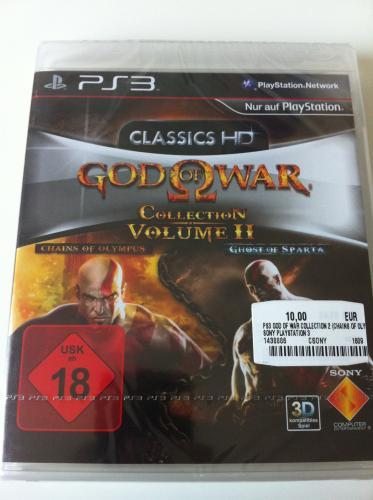 [ MM - Bielefeld ] GOD of WAR Collection Volume II (PS3) für 10,-€