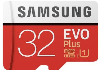 SAMSUNG Evo Plus, 32 GB, Mini-SDHC, Micro-SDHC Speicherkarte, 95 MB/s für 5€ versandkostenfrei [Saturn]