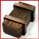 [Wieder da] Geheime Schatzkiste aus Holz für ~ 3€ @ ebay
