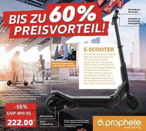 kaufland prophete e scooter elektro cityroller 36 volt. Black Bedroom Furniture Sets. Home Design Ideas