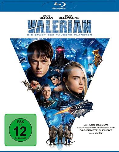 Valerian - Die Stadt der tausend Planeten (Blu-ray) für 6€ (Amazon Prime & Media Markt)