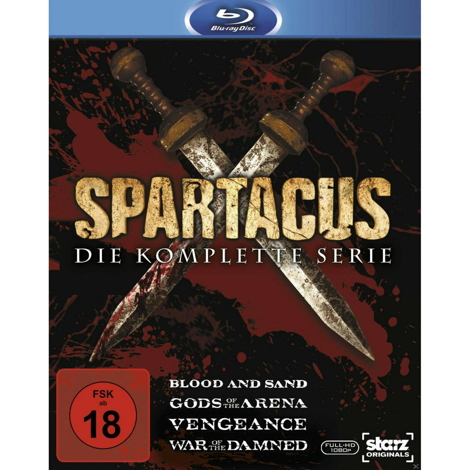 Spartacus - Die komplette Serie Complete Box (Blu-ray) für 36€ (Media Markt & Amazon)