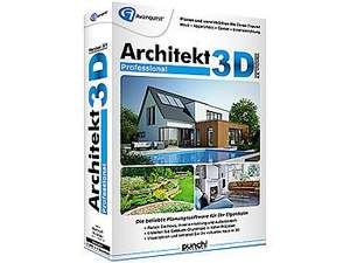 Architekt 3d x9 professional 3d haus gartenplaner for Architekt 3d gartenplaner