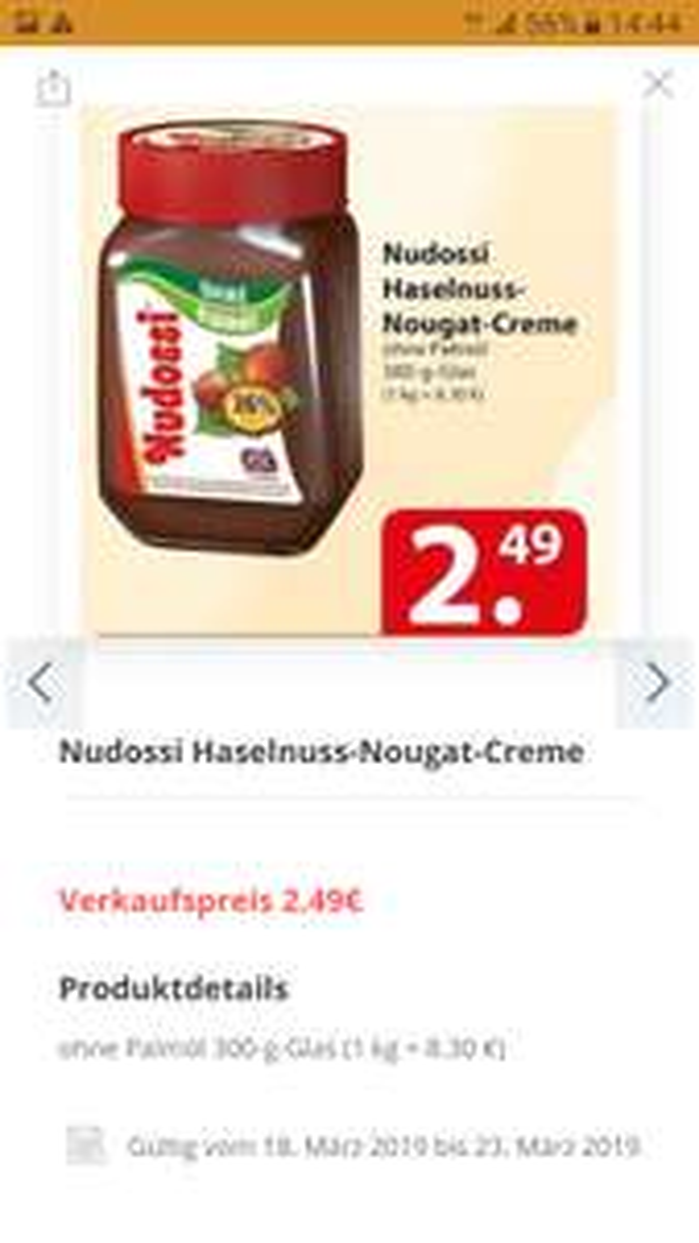 Famila Nordost Nudossi 300g 2.49€
