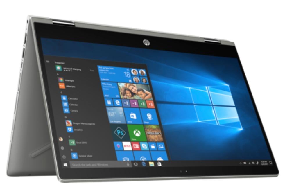 "HP Pavilion X360 14-CD1003NG Convertible 14"" FHD IPS Touch Digitizer, i5-8265U, 8GB RAM, 256GB PCIe SSD, bel. Tastatur, USB-C, Win10, 1.59kg"