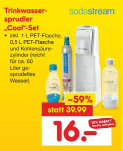 [Netto lokal Hamburg] Sodastream Cool Set inkl. Co2 Zylinder