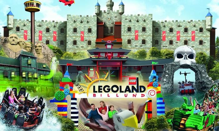 LEGOLAND Billund: Familien - Zwei Tagesticket für 3 Personen (max. 2 Erwachsene und 1 Kind) für 102 €