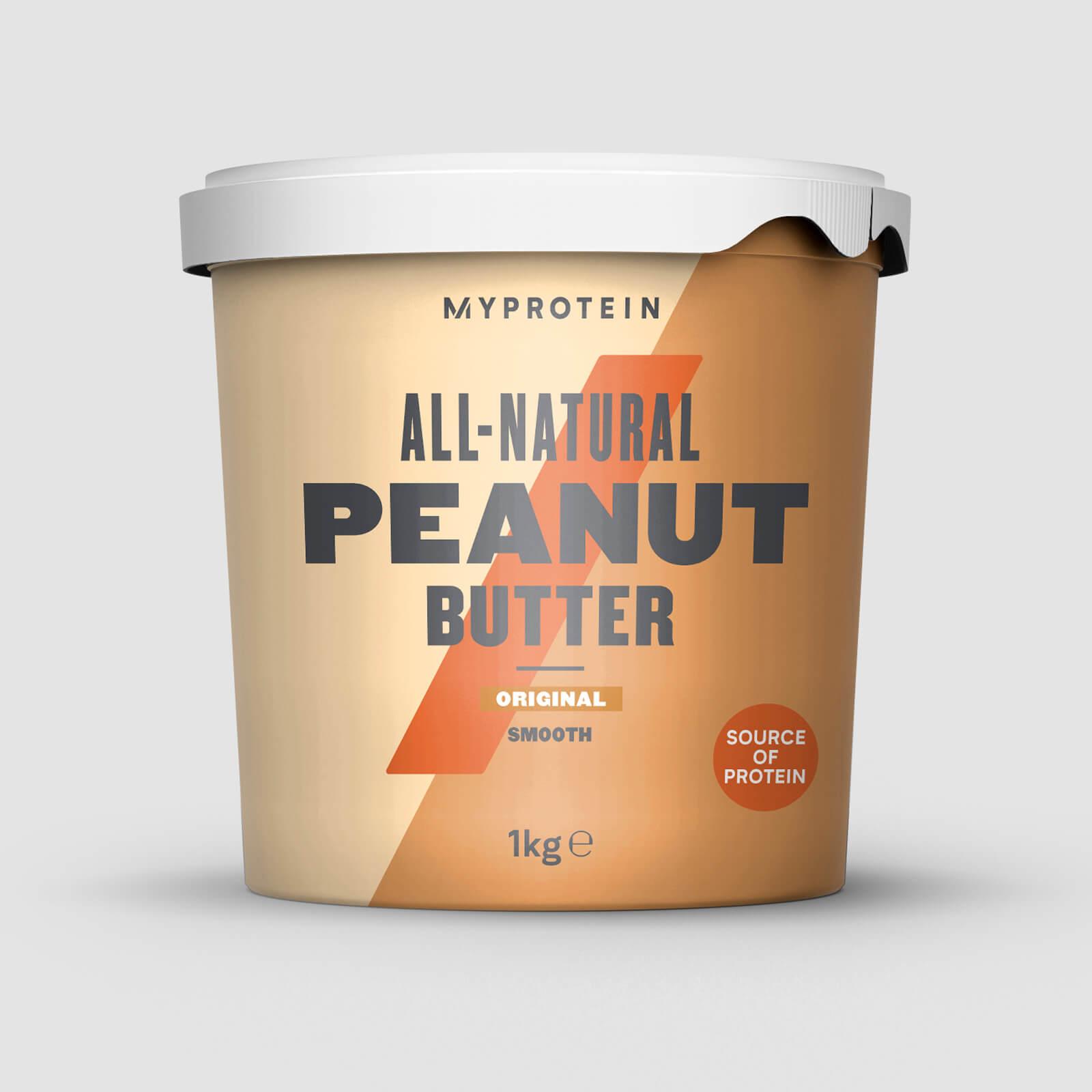 1 Kg Erdnussbutter für 6,42€ dank kostenfreien Versand bei Myprotein + 37% Rabatt