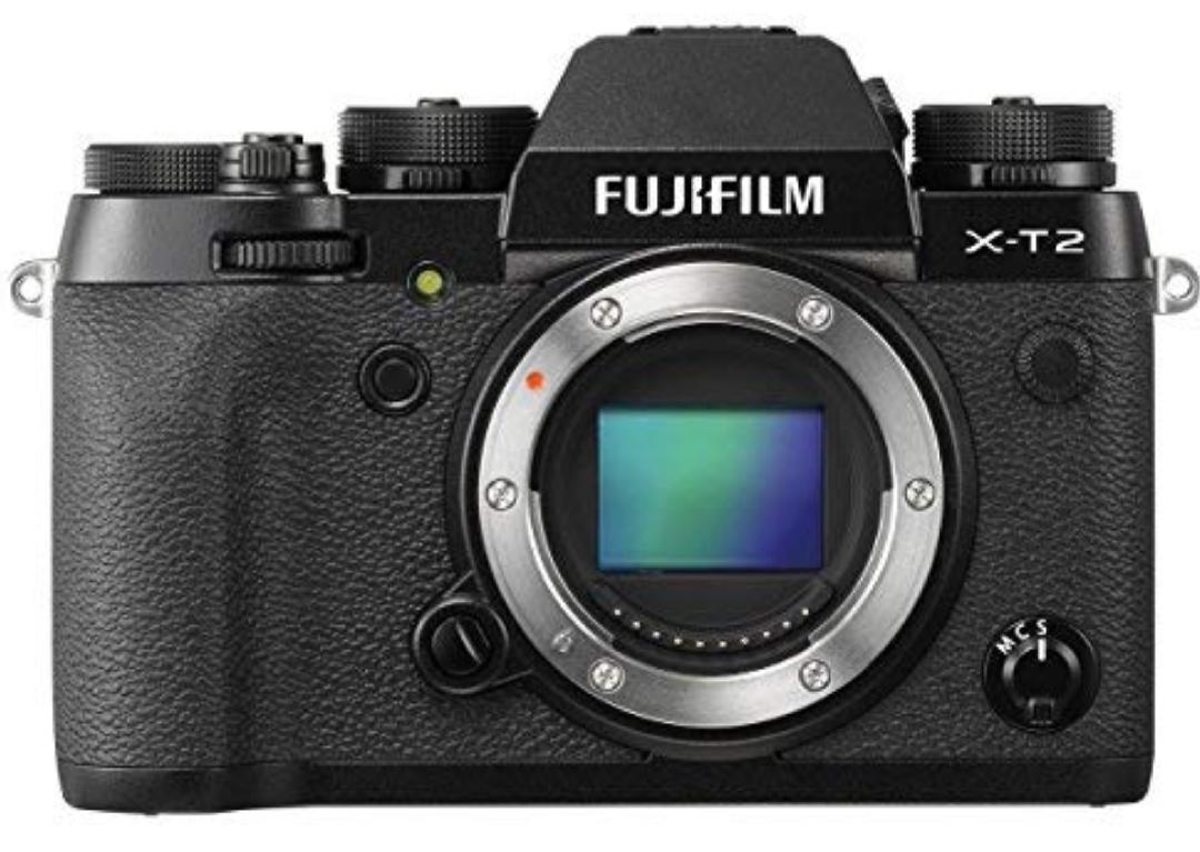 Fujifilm X-T2Body Systemkamera, schwarz
