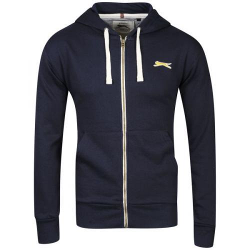 (UK)    Slazenger Men's Full Zip Hoody - Navy  für 11,56 Euro