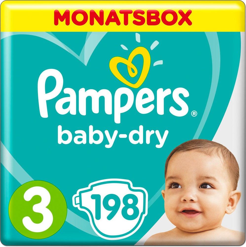 -33% auf Pampers Baby Dry Windeln Monatsboxen