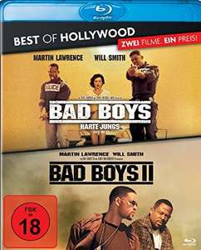 Bad Boys - Harte Jungs/Bad Boys 2 - 2 Movie Collector's Pack Blu-ray durch Rabattaktion für nur 7,13€ [Amazon Prime]