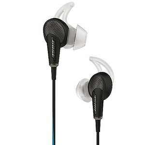 BOSE Quietcomfort 20 Schwarz In Ear Acoustic Noise Cancelling Ohrhörer für iOS