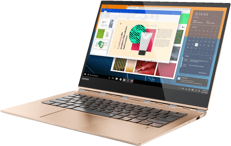 "Lenovo Yoga 920-13 IKB Convertible kupferfarben (13,9"" UHD Multi-Touch IPS-Panel mit Digitizer, i7-8550U, 8GB RAM, 512GB SSD, Thunderbolt 3)"