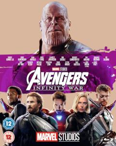 Avengers: Infinity War (Blu-ray) + Black Panther (Blu-ray) für 18,66€ (Zavvi)