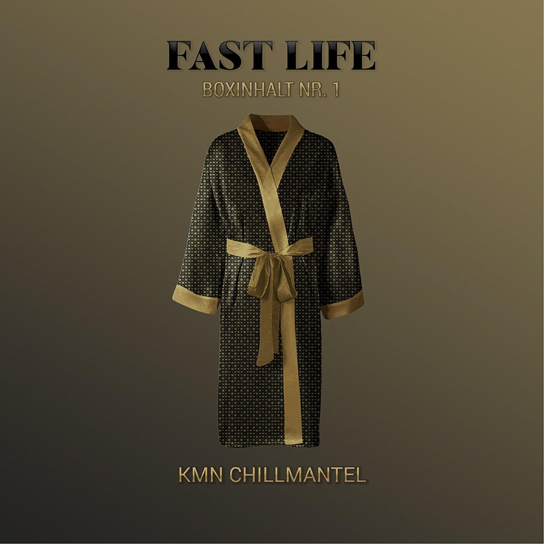 "Bademantel ""KMN Chillmantel"" (+ CD ""Azet - Fast Life"")"