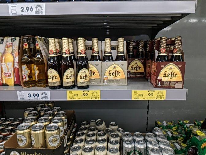 [Lokal] Leffe-Bier (Belgien) 0,99€/4 Flaschen Netto Bayreuth