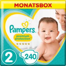dm Glückskind 20% auf Pampers Premium Protection Vorratsboxen (eff. 0,14€ pro Stück)