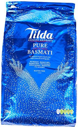 Tilda Pure Basmati Reis 20KG (1,34€ pro kg)