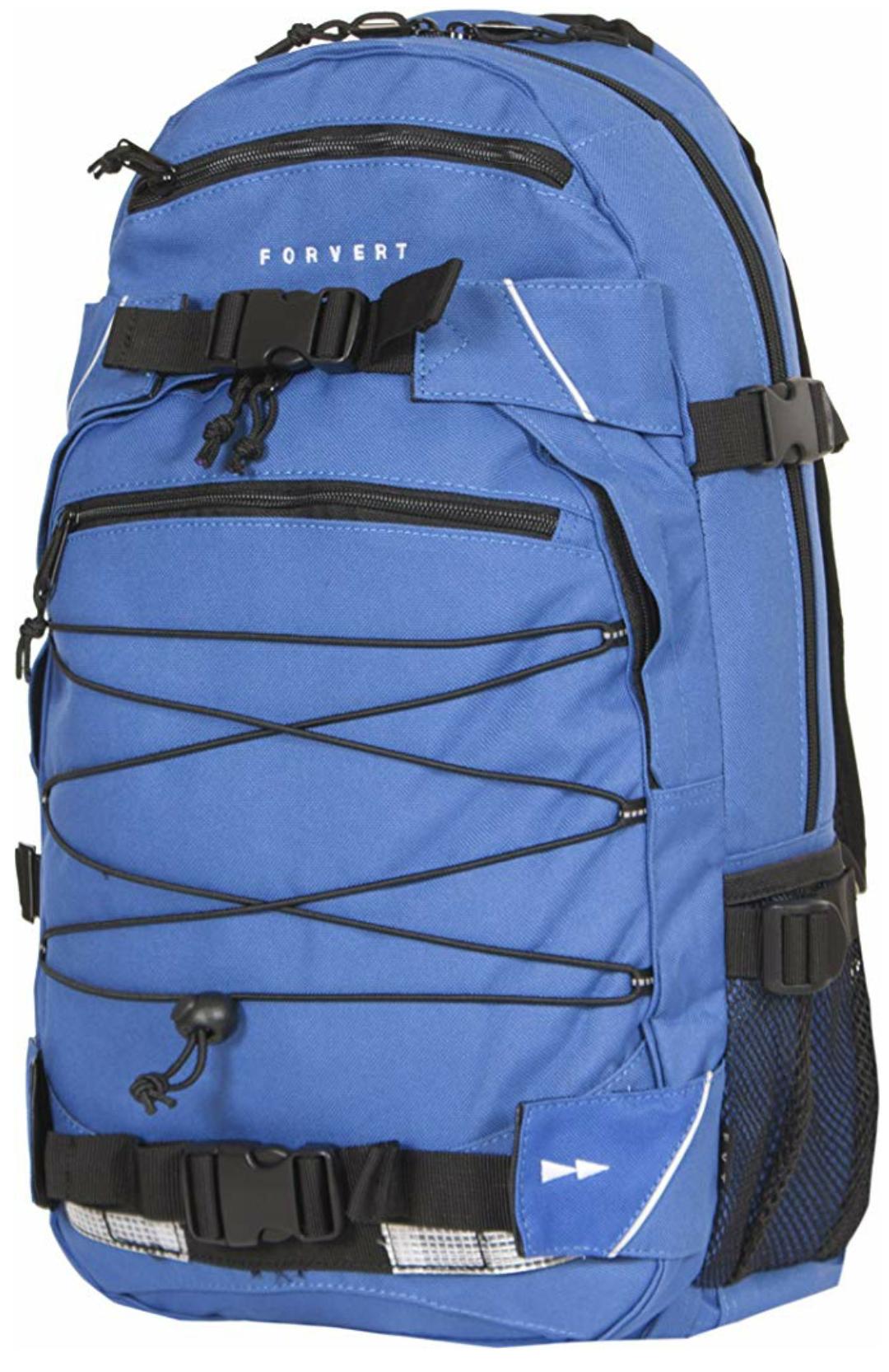 [Prime] Forvert Unisex Backpack Louis 25 Liter mit Boardcatcher und Laptopfach, blau (royal)