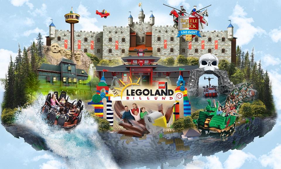 Familientickets für 1 oder 2 Tage für das Legoland Billund Resort bei Groupon