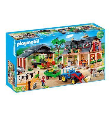 "[Offline München] Galeria Kaufhof Marienplatz - Playmobil 4055 ""Bauernhof Mega-Set"""