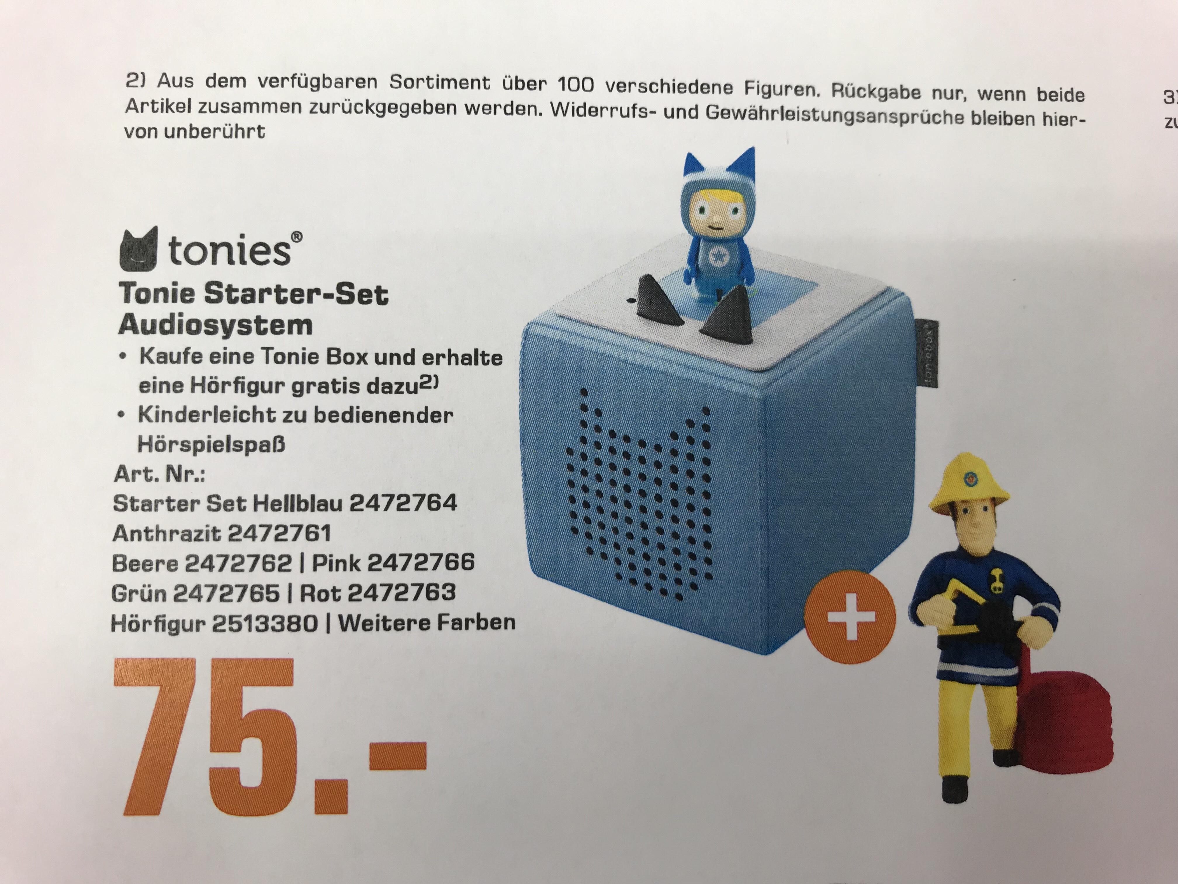 Tonie Box inkl Figur nach Wahl