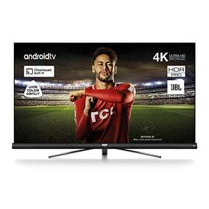 [Amazon] TCL 65DC766 Fernseher 164 cm (65 Zoll) Smart TV (4K UHD, Wide Color Gamut, Andoid TV, Google Home, JBL by Harmon Kardon)