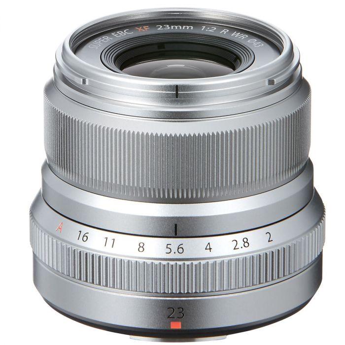 Fujifilm Fujinon XF23F2 Objektiv silber