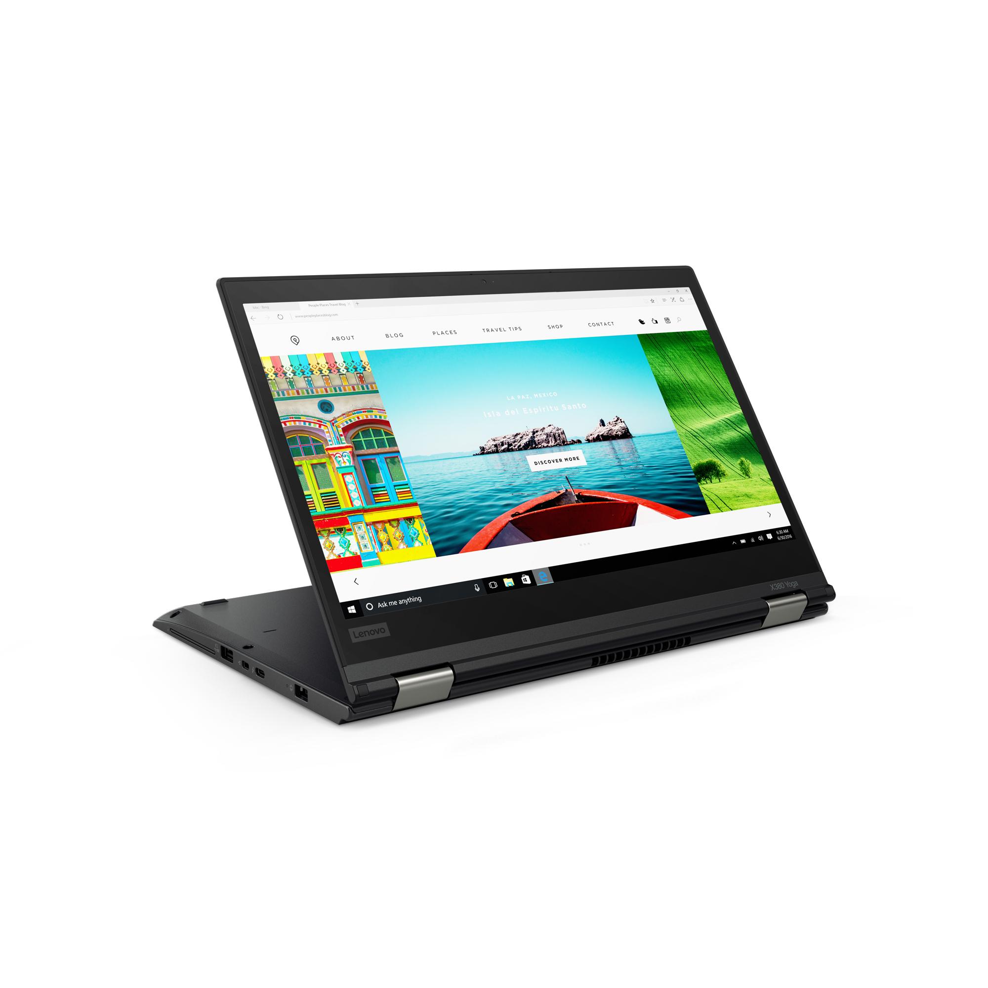 Lenovo ThinkPad X380 Yoga mit i7-8550U, 512GB NVMe-SSD, 16GB RAM