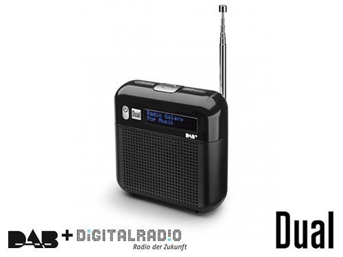 Dual DAB 7 DAB+/DAB-Radio - mobiles Digitalradio für die Westentasche für digitalen Empfang der 90elf Kanäle und viele weitere (auch lokale) DAB+ Radiostationen - für 51,27 € inkl. Versand bei voelkner
