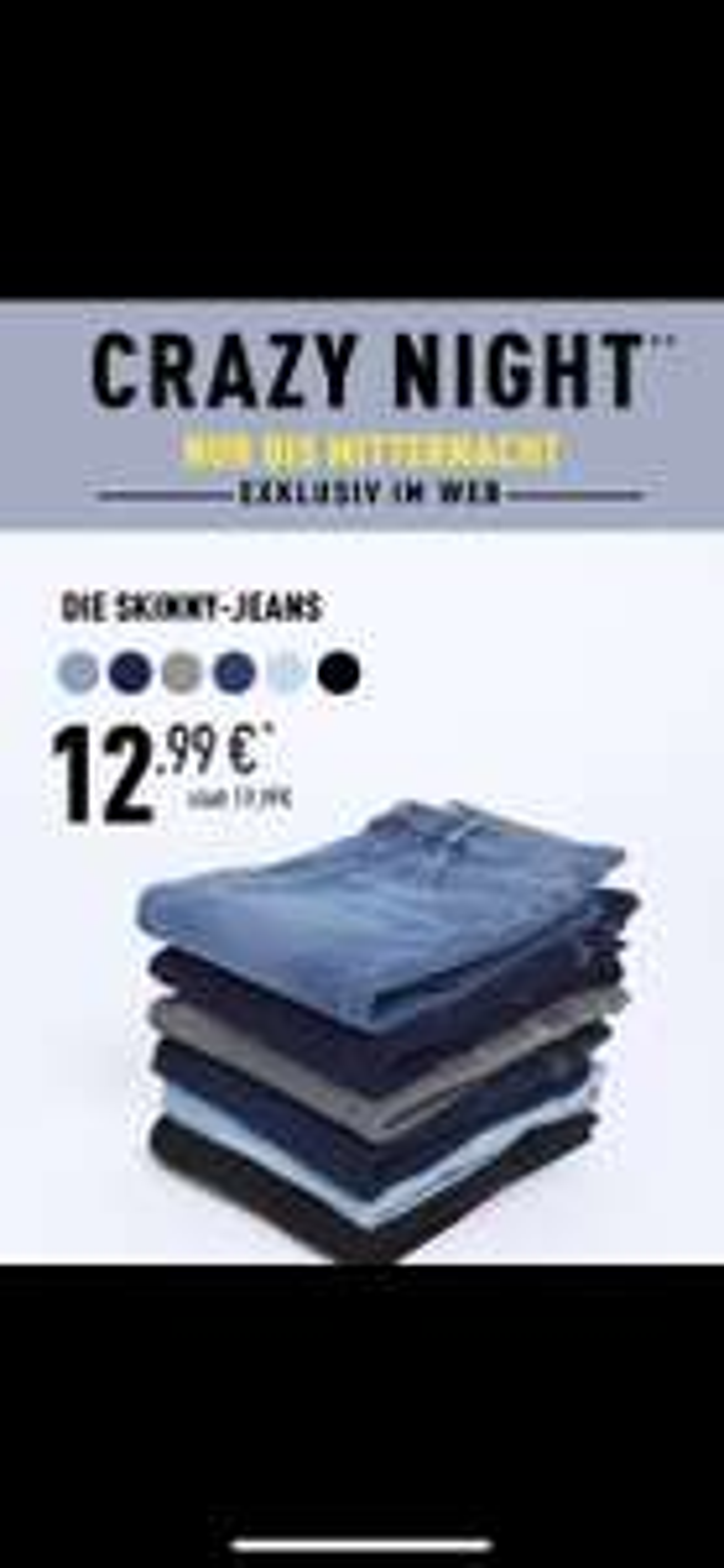 Skinny Jeans bei Pimkie