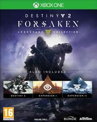 Destiny 2: Forsaken Legendary Collection inkl. Cayde Stash DLC (Xbox One & PS4) für je 17,37€ (ShopTo)