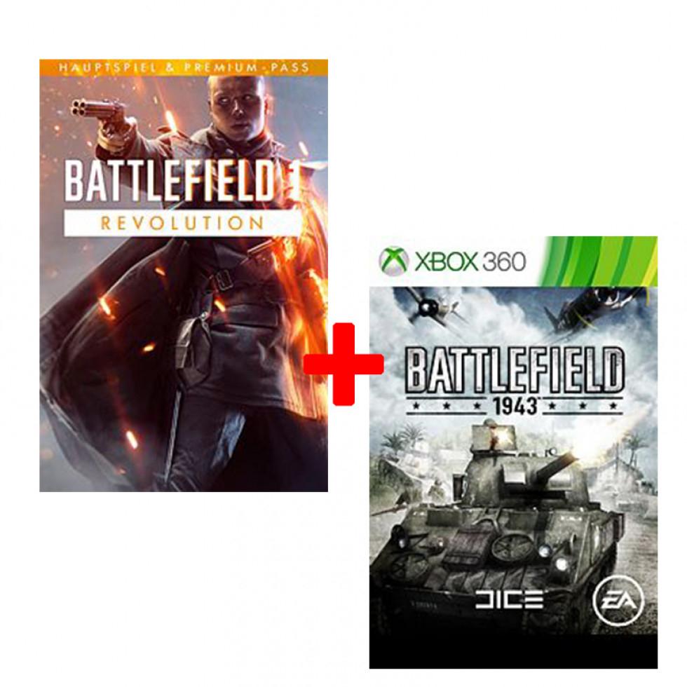 Battlefield 1 Revolution inkl. Battlefield 1943 (Xbox One Digital) für 1,99€ (Instant Gaming)