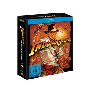 Indiana Jones The Complete Adventures [Blu-ray]  [Amazon.de ist mitgezogen]