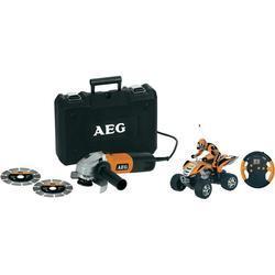 AEG Winkelschleifer WS 6-125 + ferngesteuertes Power Quad (als Freebie)