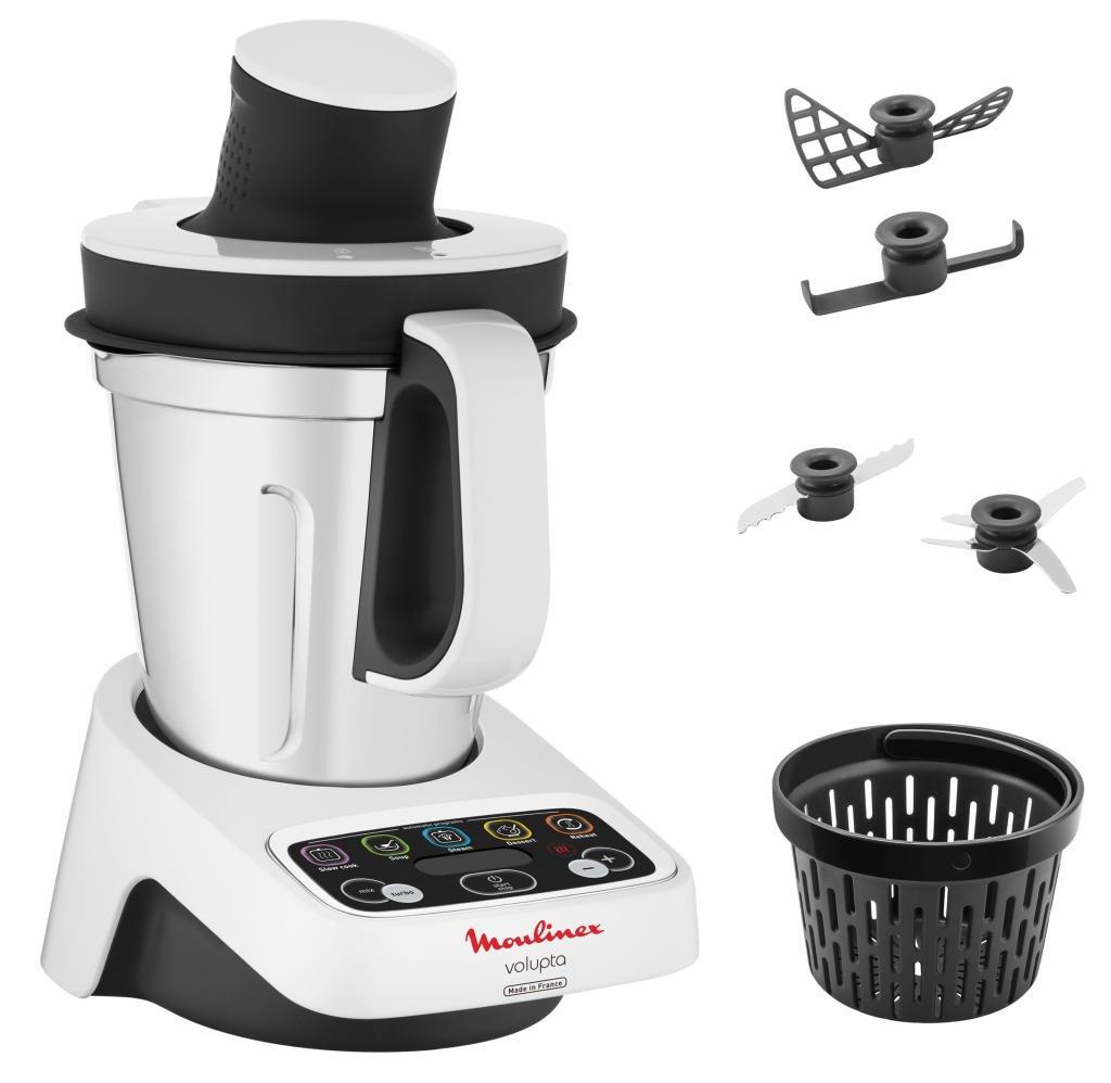 [Tchibo Prozente Filialen] Moulinex Multifunktions-Küchenmaschine Volupta HF4041 mit Kochfunktion (Erhitzen, Dampfgaren, Kochen, Garen)