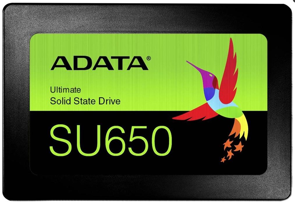ADATA Ultimate SU650 960GB, SATA, 3D-NAND TLC