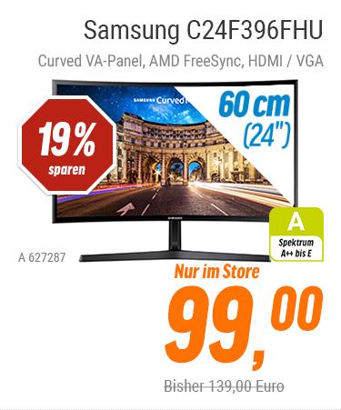 "[Lokal NBB Stores] Samsung 24"" Curved FHD VA-Panel AMD FreeSync 99€ oder 27"" 149€"