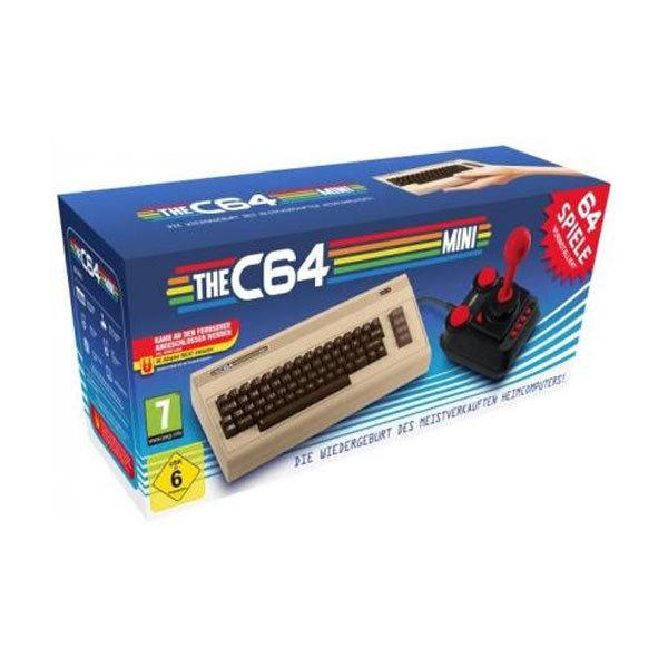 C64 MINI Konsole für 29,99 (inkl. Versand) via Rakuten (Deltatecc)/Paydirekt