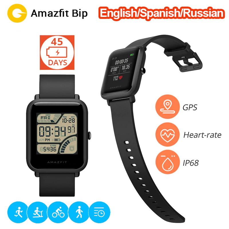 Xiaomi Huami Amazfit Bip Smart Watch mit Ersatzarmband aus Spanien