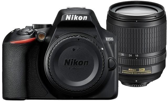 NIKON D3500 mit 18-105mm F3.5-5.6 oder 18-140mm F3,5-5,6 Objektiv