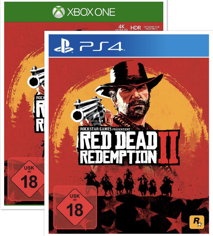 Red Dead Redemption 2 für Xbox o. PS4 für je 33,99€ bei Marktabholung [Mediamarkt Club]