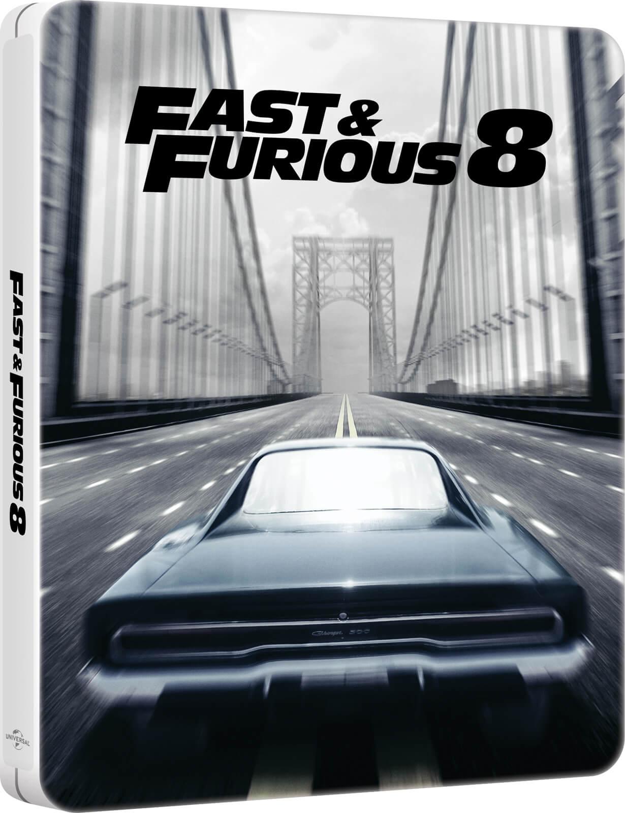 Fast & Furious 8: Limited Edition Steelbook (4K Blu-ray + Blu-ray) (OT) für 10€ (Zavvi)