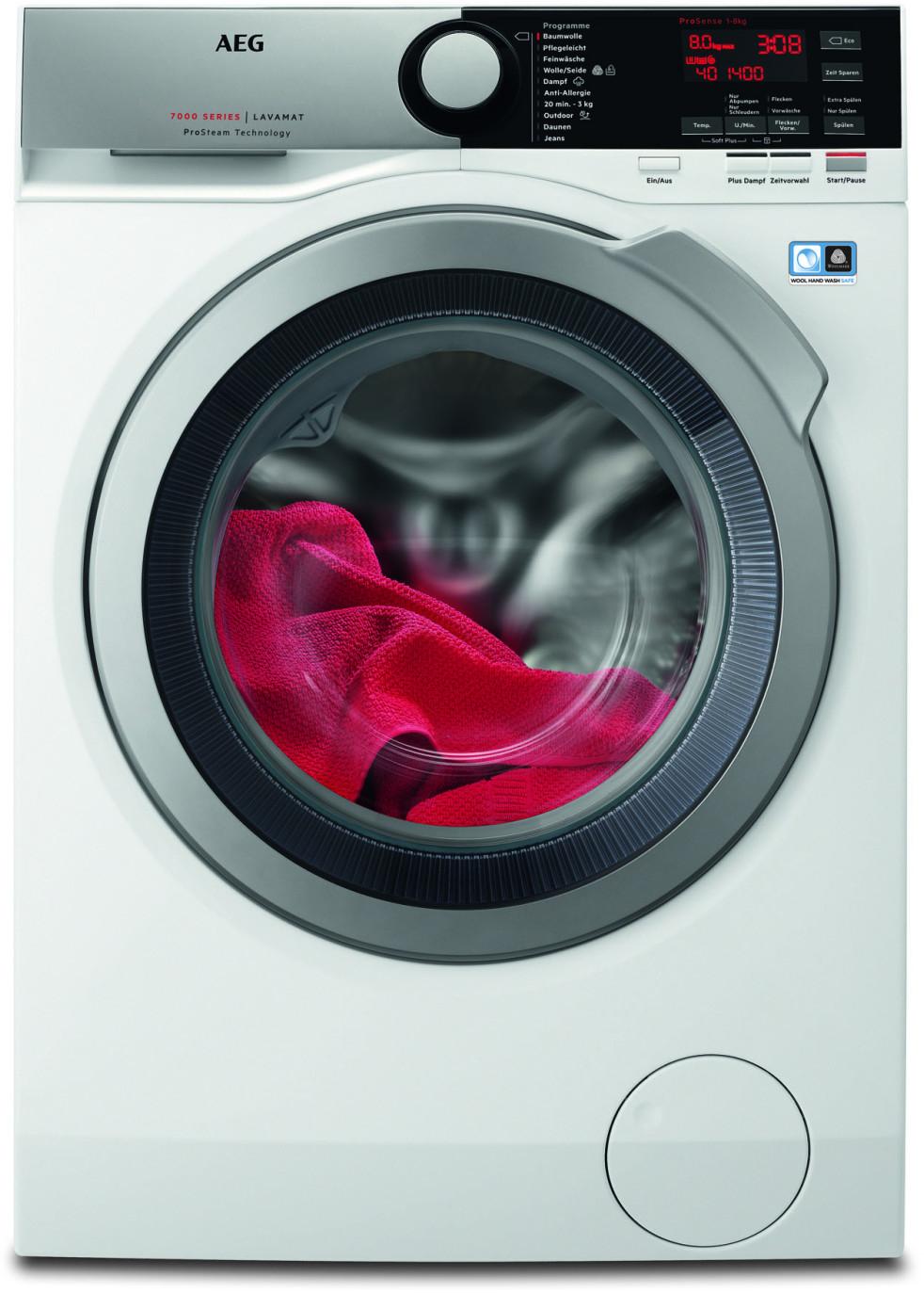 AEG L7FE74485 Waschmaschine + 110 € Shoop Cashback
