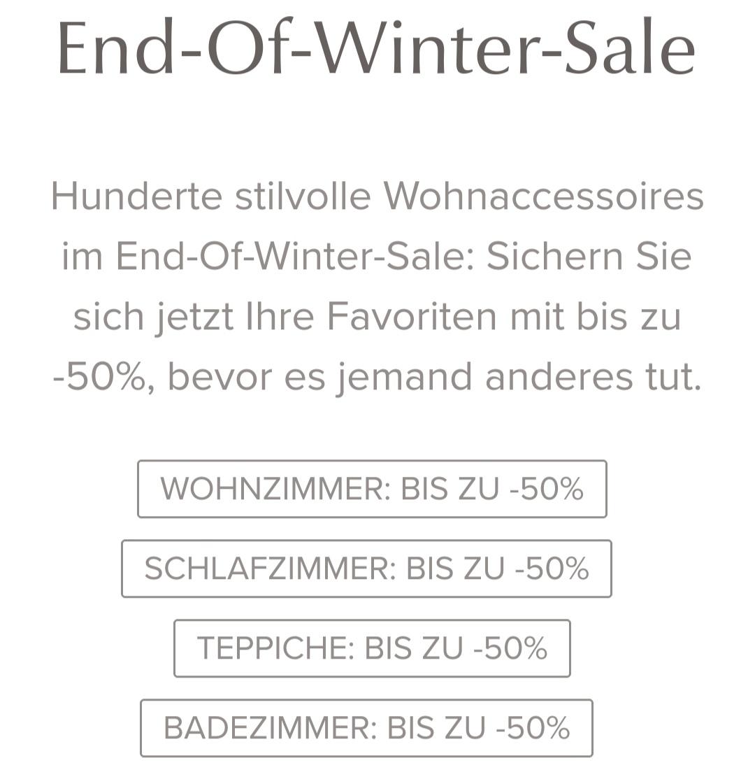 URBANARA SALE, bis 50% Rabatt! Plaids, Teppiche, Bettwäsche, Handtücher...