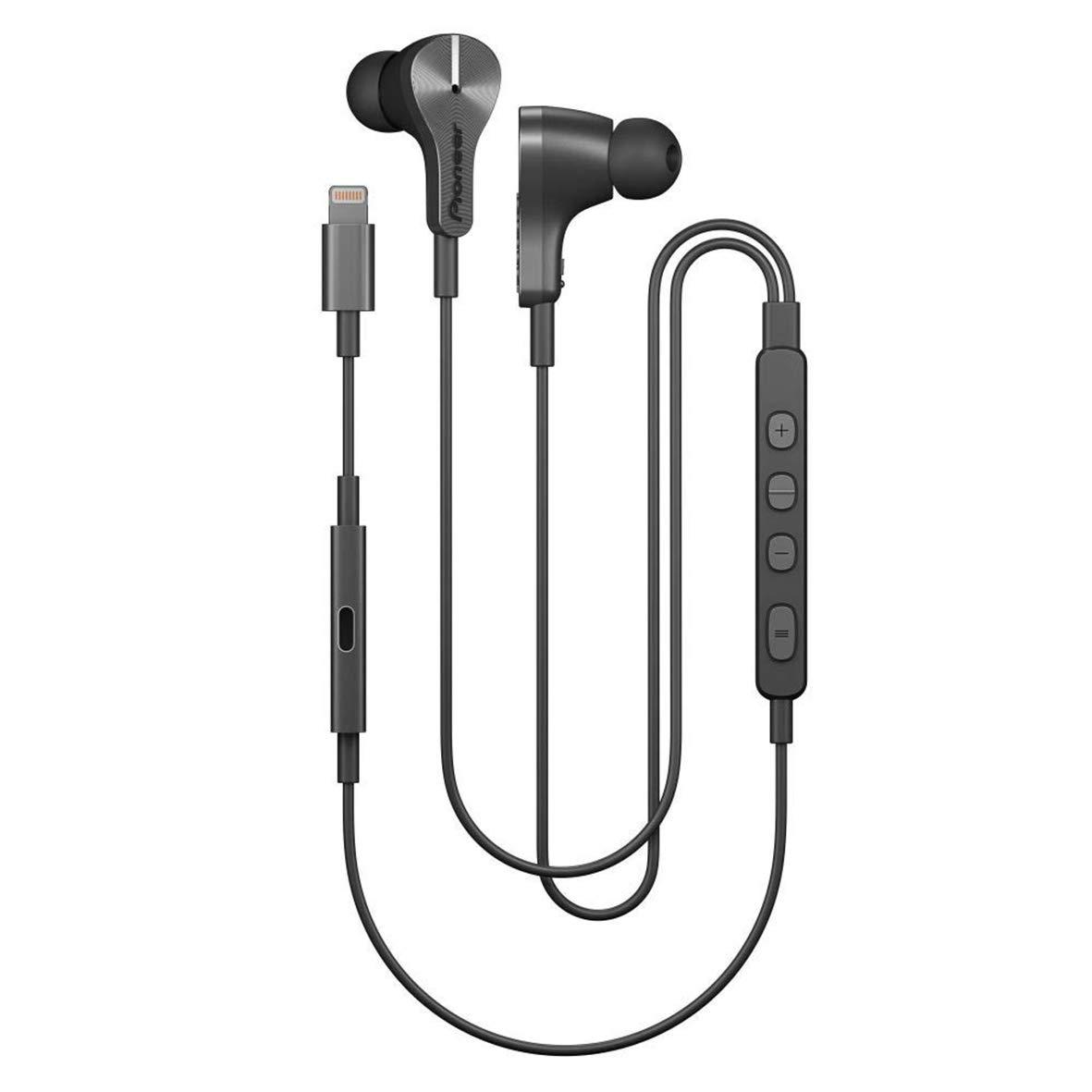[Amazon oder Cyberport] Pioneer Rayz Plus SE-LTC5R-S In-Ear Kopfhörer mit Lightning-Anschluß graphit