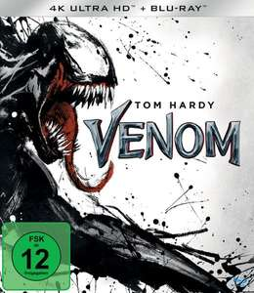 Venom 4K UHD Blu Ray für 23,79€