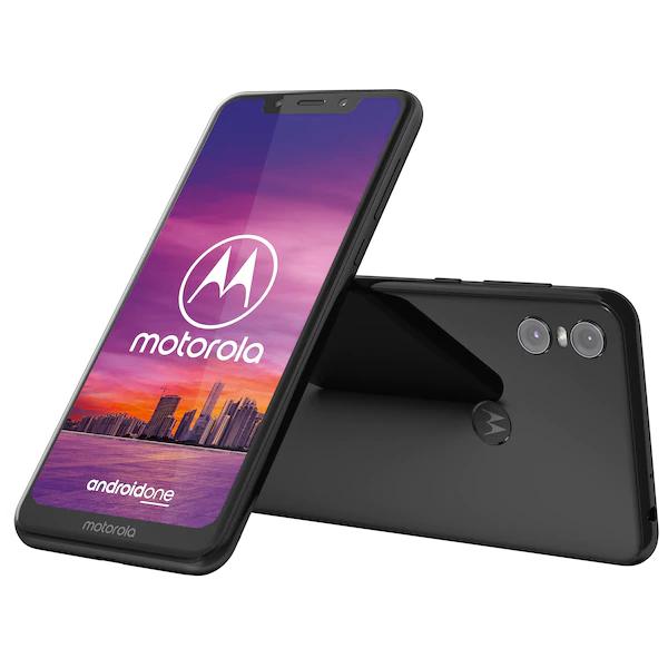"Bestpreis - Motorola Moto One 5,9"" HD+, Android™ 9, 4GB RAM, 64 GB, Octa-Core, schwarz"